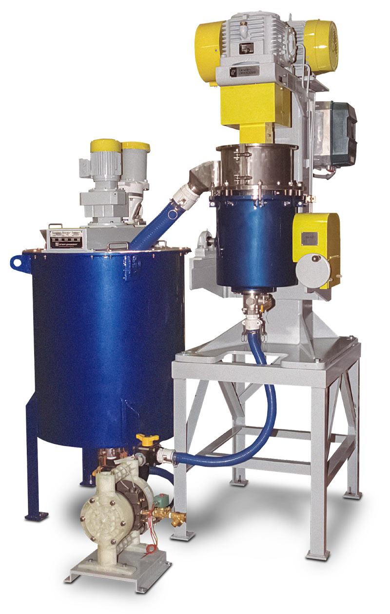 Q-6 Circulation Attritor system