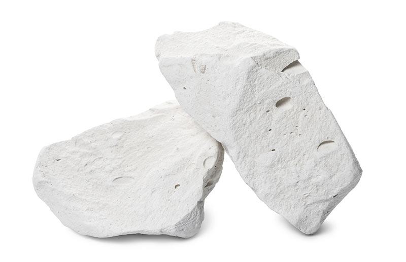 raw calcium carbonate