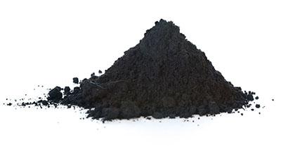 ground graphite